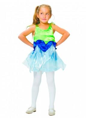Карнавальное платье цветочка колокольчика