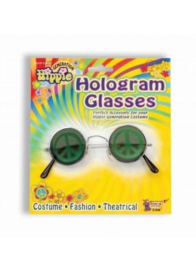 Карнавальные очки c голограммой фото
