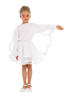 Карнавальный костюм белого лебедя