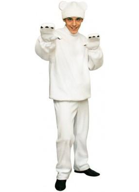 Карнавальный костюм Белый Медведь взрослый