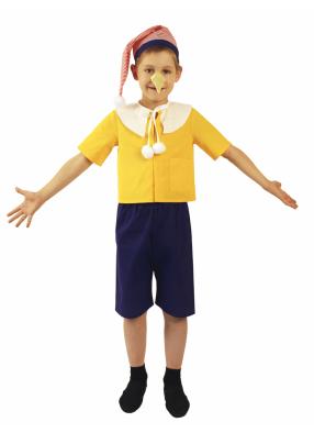 Карнавальный костюм Буратино с носом 1 фото
