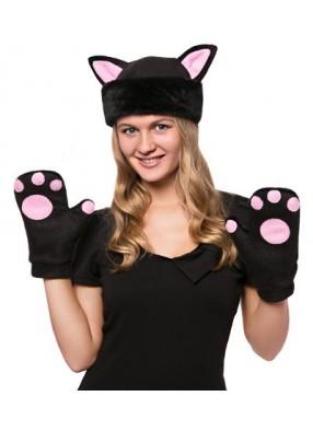 Карнавальный костюм Черная Кошка Мини