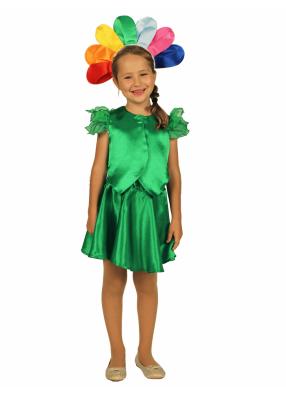 Карнавальный костюм для девочки Цветик-Семицветик 1 фото