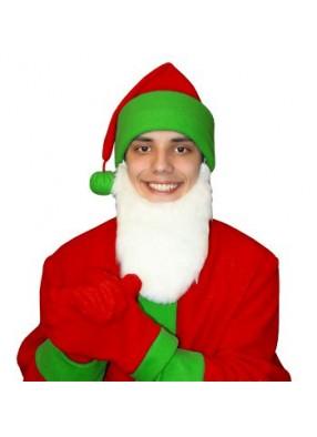 Карнавальный костюм Гнома Мини красно-зеленый
