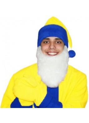 Карнавальный костюм Гнома Мини желто-синий