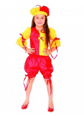 Карнавальный костюм клоунессы фото
