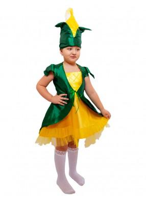 Карнавальный костюм кукурузы для девочки