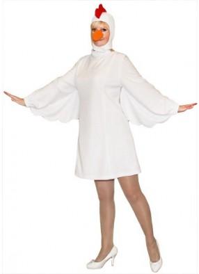 Карнавальный костюм Курица девушке