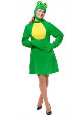 Карнавальный костюм Лягушка девушке