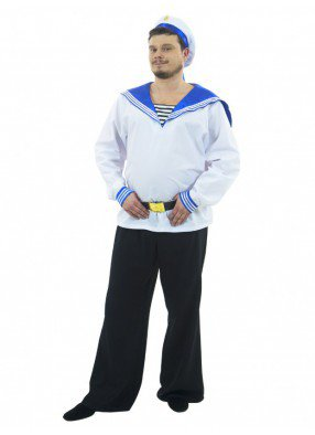 Карнавальный костюм матроса красавца