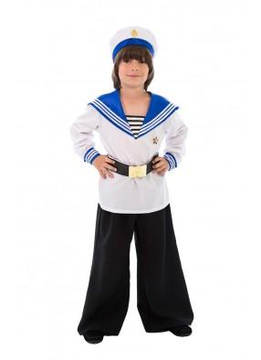 Карнавальный костюм матроса спереди фото