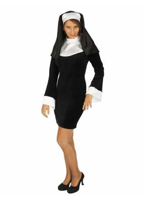Карнавальный костюм Монашка 1 фото