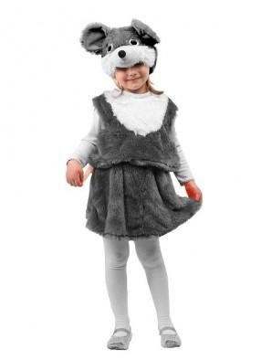 Карнавальный костюм мыши для девочки