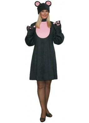 Карнавальный костюм Мышки девушке