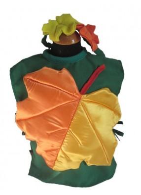 Карнавальный костюм осенний листок
