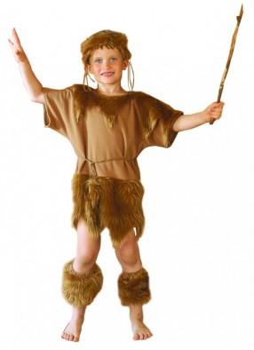 Карнавальный костюм Первобытный мальчик фото