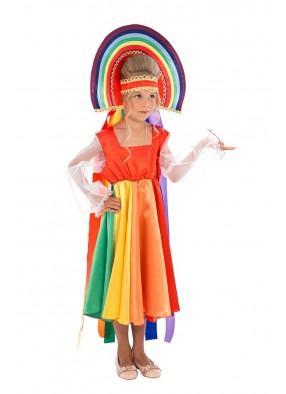 Карнавальный костюм радуги