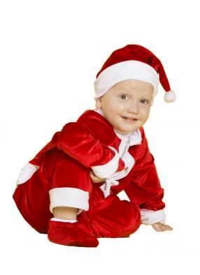 Карнавальный костюм Санта Клаус малышу 1 фото