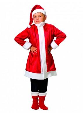 Карнавальный костюм Санты Клауса для мальчика фото