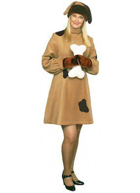 Карнавальный костюм Собака девушке