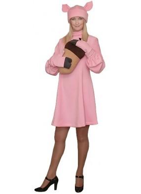 Карнавальный костюм Свинки девушке
