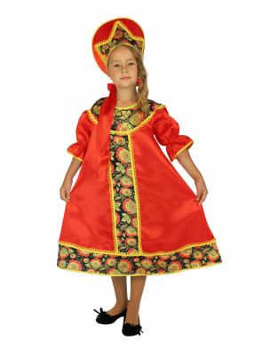 Карнавальный костюм Хохлома 1 фото