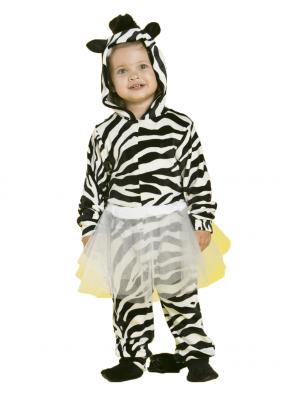 Карнавальный костюм Зебра девочка 1 фото