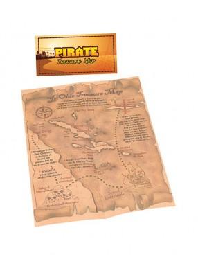 Карта сокровищ пиратская