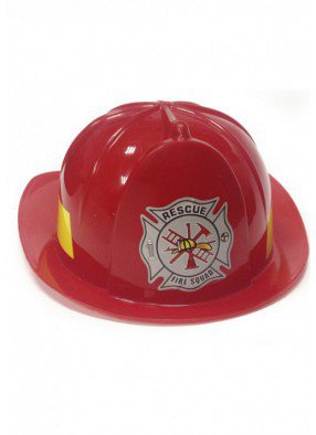 Каска пожарного красная-35