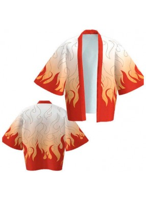 Кимоно-рубашка Наруто огонь