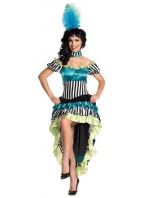 Классический костюм танцовщицы кабаре