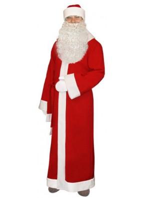 Классический новогодний костюм Деда Мороза