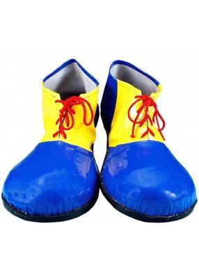 Клоунские ботинки синие