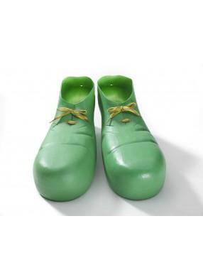 Клоунские накладки зеленые взрослые