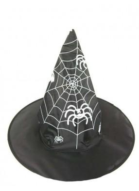 Колпак с пауками и паутиной