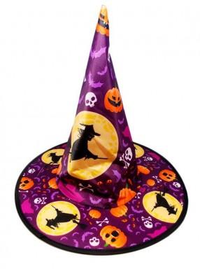 Колпак ведьмы для хэллоуина