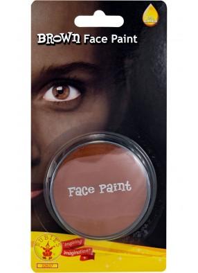 Коричневый грим краска для лица фото