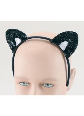 Кошачьи ушки блестящие