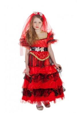 Костюм испанки карнавальный