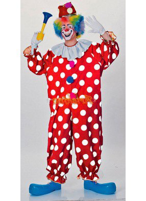 Костюм клоуна в крапинку