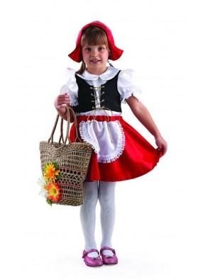 Костюм красной шапочки детский фото