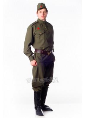 Костюм солдата ВОВ