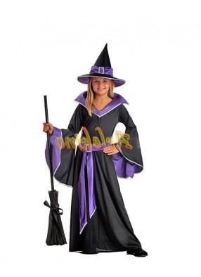 Костюм стильной ведьмочки детский