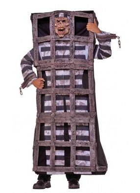 Костюм заключённого в клетке