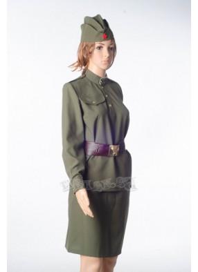 Костюм женский военный