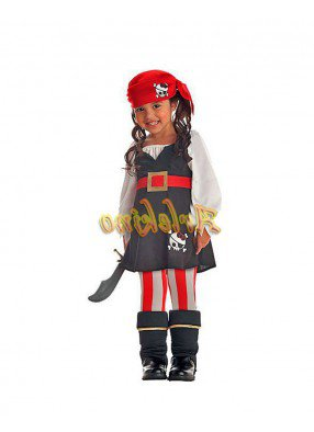 Костюм жизнерадостной пиратки детский