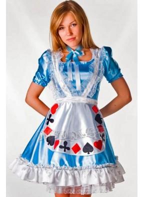 Костюм скромной Алисы в стране чудес