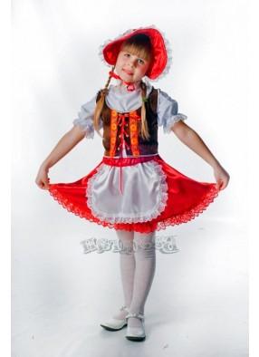 Костюм Красной шапочки милашки детский