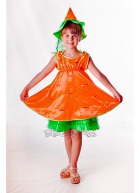 Костюм красавицы морковки