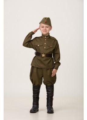 Военный костюм с галифе